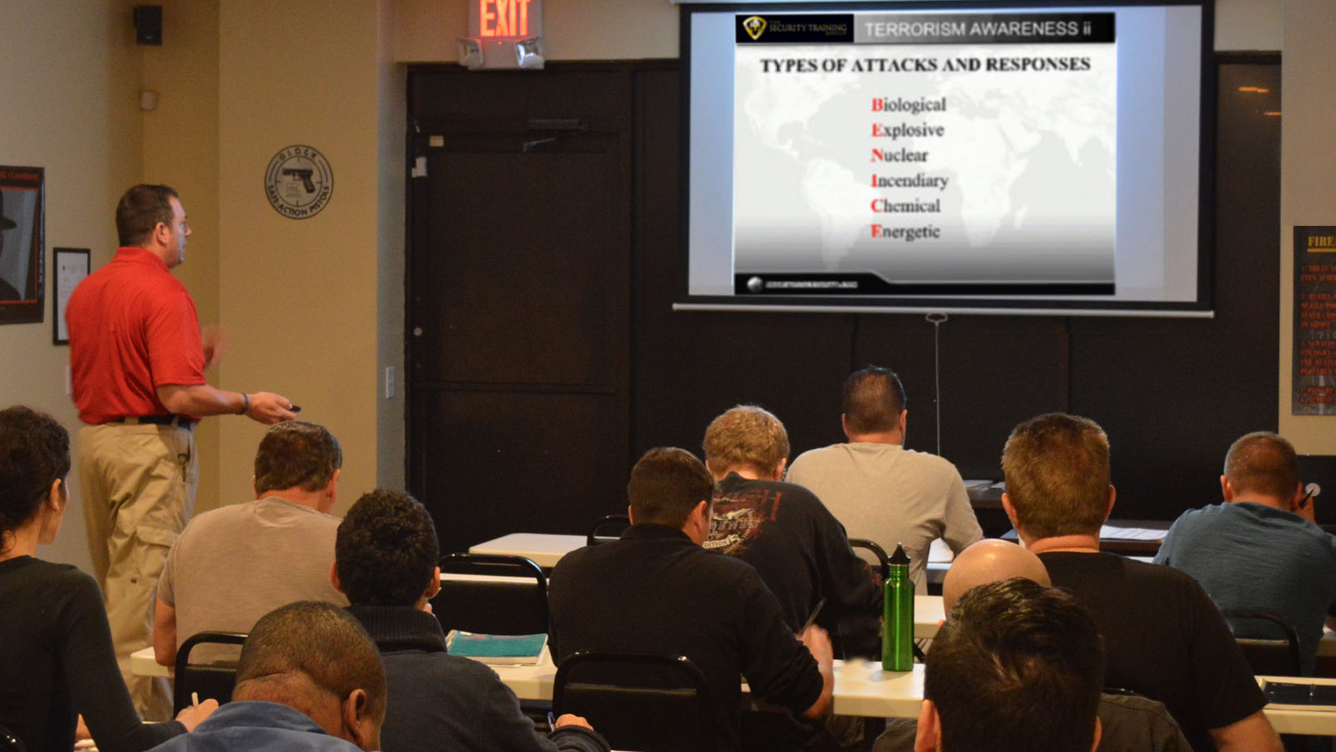 Security Training Group Delivers St. Petersburg Classes
